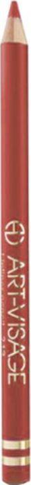 Art-Visage Карандаш контурный для губ / Lipliner pencil, т. 211, 1,3 г642816Создает идеальный контур губ. Бережно ухаживает за нежной кожей весь день. В состав карандаша входят натуральные компоненты, которые способствуют сохранению красоты и молодости ваших губ: • Экстракт алоэ оказывает тонизирующее и бактерицидное действие; • масло жожоба смягчает и питает кожу; • витамин Е помогает сохранить молодость кожи; • натуральные тугоплавкие воски обеспечивают повышенную стойкость карандаша в течение дня.