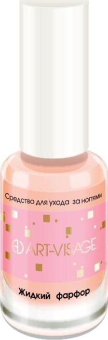 Art-Visage Средство для ухода за ногтями: Жидкий фарфор, 8 мл000225Мгновенное преображение, идеально ровные здоровые ногти. Скрывает микротрещины. Увеличивает стойкость лака. Гидролизованный шелк стимулирует рост ногтевой пластины; линоленовая кислота обеспечивает барьерную функцию; витамин Е; ретинил пальмитат - устойчивая форма витамина А - повышает эластичность, активизирует процесс обновления клеток