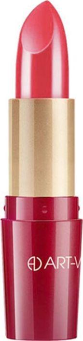 Art-Visage Ухаживающая губная помада Кашемир / Ultra care lipstick. Velvet touch, тон 502, 4,5 г006456Палитра из 40 оттенков, составленная на основании статистики самых востребованных покупателями оттенков: перламутровые, с мерцающим перламутром, матовые. Синтетический сапфир обеспечивает невероятный блеск помады на губах. Основа помады: натуральные воски, масло семян абиссинской горчицы, витамины А и Е - инновационная система защиты и ухода за кожей. 301 - оттенки с перламутром; 401 - оттенки с насыщенным перламутром; 501 - матовые оттенки.Какая губная помада лучше. Статья OZON Гид