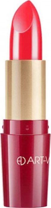 Art-Visage Ухаживающая губная помада Кашемир / Ultra care lipstick. Velvet touch, тон 503, 4,5 г006463Палитра из 40 оттенков, составленная на основании статистики самых востребованных покупателями оттенков: перламутровые, с мерцающим перламутром, матовые. Синтетический сапфир обеспечивает невероятный блеск помады на губах. Основа помады: натуральные воски, масло семян абиссинской горчицы, витамины А и Е - инновационная система защиты и ухода за кожей. 301 - оттенки с перламутром; 401 - оттенки с насыщенным перламутром; 501 - матовые оттенки.Какая губная помада лучше. Статья OZON Гид