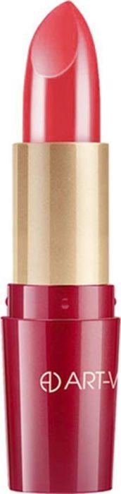 Art-Visage Ухаживающая губная помада Кашемир / Ultra care lipstick. Velvet touch, тон 507, 4,5 гKMVL14Палитра из 40 оттенков, составленная на основании статистики самых востребованных покупателями оттенков: перламутровые, с мерцающим перламутром, матовые. Синтетический сапфир обеспечивает невероятный блеск помады на губах. Основа помады: натуральные воски, масло семян абиссинской горчицы, витамины А и Е - инновационная система защиты и ухода за кожей. 301 - оттенки с перламутром; 401 - оттенки с насыщенным перламутром; 501 - матовые оттенки.Какая губная помада лучше. Статья OZON Гид