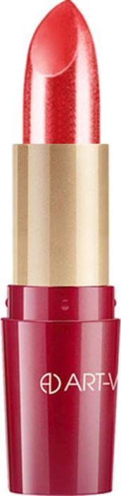 Art-Visage Ухаживающая губная помада Кашемир / Ultra care lipstick. Velvet touch, тон 403, 4,5 г007873Палитра из 40 оттенков, составленная на основании статистики самых востребованных покупателями оттенков: перламутровые, с мерцающим перламутром, матовые. Синтетический сапфир обеспечивает невероятный блеск помады на губах. Основа помады: натуральные воски, масло семян абиссинской горчицы, витамины А и Е - инновационная система защиты и ухода за кожей. 301 - оттенки с перламутром; 401 - оттенки с насыщенным перламутром; 501 - матовые оттенки.Какая губная помада лучше. Статья OZON Гид