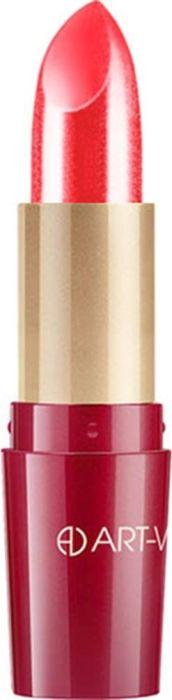 Art-Visage Ухаживающая губная помада Кашемир / Ultra care lipstick. Velvet touch, тон 404, 4,5 г007880Палитра из 40 оттенков, составленная на основании статистики самых востребованных покупателями оттенков: перламутровые, с мерцающим перламутром, матовые. Синтетический сапфир обеспечивает невероятный блеск помады на губах. Основа помады: натуральные воски, масло семян абиссинской горчицы, витамины А и Е - инновационная система защиты и ухода за кожей. 301 - оттенки с перламутром; 401 - оттенки с насыщенным перламутром; 501 - матовые оттенки.Какая губная помада лучше. Статья OZON Гид