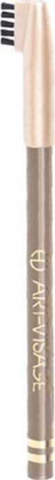 Art-Visage Карандаш для бровей / Eyebrow pencil, т. 405, 0,78 г018466Карандаш для бровей для максимально естественных бровей Карандаш обладает плотной текстурой, что позволяет создавать максимально естественный цвет бровей, одновременно корректировать их и подчеркивать форму. Щеточка на конце колпачка поможет легко растушевать нанесенную линию до желаемой насыщенности. Пальмовые глицериды и гидрогенезированное касторовое масло — кондиционирующие и ухаживающие компоненты. Натуральные тугоплавкие воски (пчелиный, карнаубский и фруктовый) обеспечивают повышенную стойкость цвета в течение дня.