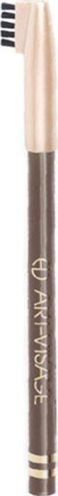 Art-Visage Карандаш для бровей / Eyebrow pencil, т. 407, 0,78 г040658Карандаш для бровей для максимально естественных бровей Карандаш обладает плотной текстурой, что позволяет создавать максимально естественный цвет бровей, одновременно корректировать их и подчеркивать форму. Щеточка на конце колпачка поможет легко растушевать нанесенную линию до желаемой насыщенности. Пальмовые глицериды и гидрогенезированное касторовое масло — кондиционирующие и ухаживающие компоненты. Натуральные тугоплавкие воски (пчелиный, карнаубский и фруктовый) обеспечивают повышенную стойкость цвета в течение дня.Как создать идеальные брови: пошаговая инструкция. Статья OZON Гид