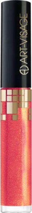 Art-Visage блеск для губ с блестками 3D Gloss, тон 205, 6,4 г046704Нежная, насыщенная цветом текстура легко наносится. Модный глянцевый блеск с блестками визуально увеличивает объем губ, придает им эффект влажного покрытия. Кисточка обеспечивает максимально объемное нанесение блеска.