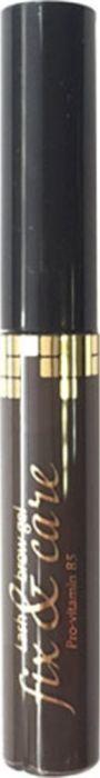 Art-Visage Оттеночный гель для бровей и ресниц Fix & Сare, 5 г, темно-коричневый059087Профессионалы бьюти-сферы уже оценили замечательные свойства этого фиксирующего геля, так как он придает дизайну брови законченный вид, содержит ухаживающие компоненты. Гель упакован в блистер.