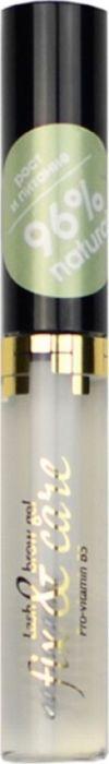 Art-Visage Гель для бровей и ресниц Organic активатор роста, 5 г063220Инновационное средство, возвращающее ресницам и бровям густоту. Содержит частицы драгоценных металлов, D-пантенол, Биотин и уникальный Биотиноил Трипептид-1, который оказывает мощное регенерирующее воздействие. В виде геля на водной основе может использоваться самостоятельно или под тушь, не требует удаления специальными средствами, подходит для чувствительных глаз.