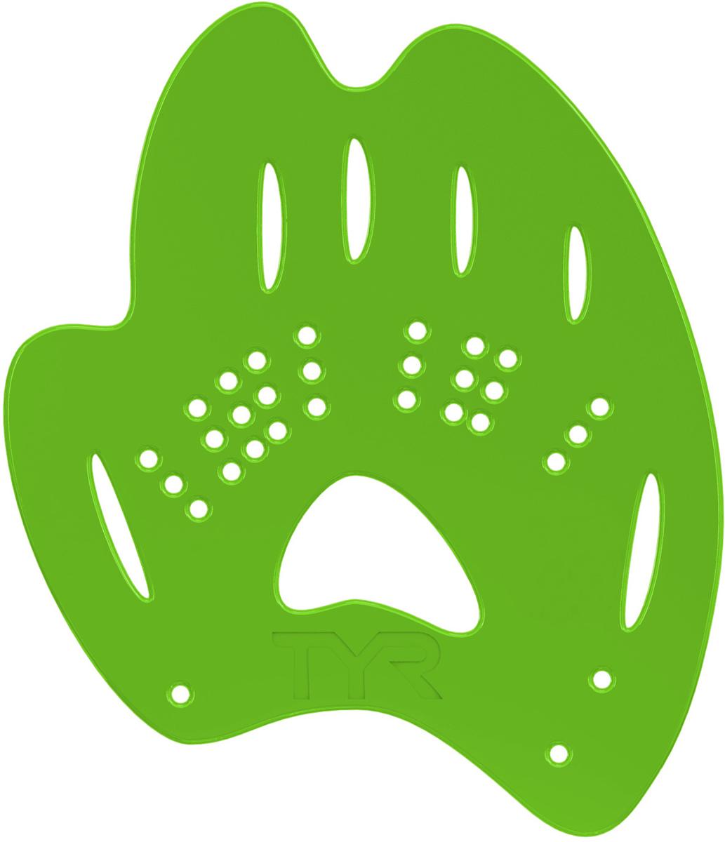 Лопатки для плавания Tyr  Mentor 2 Training Paddles , цвет: зеленый. Размер XS. LMENTOR2 - Плавание