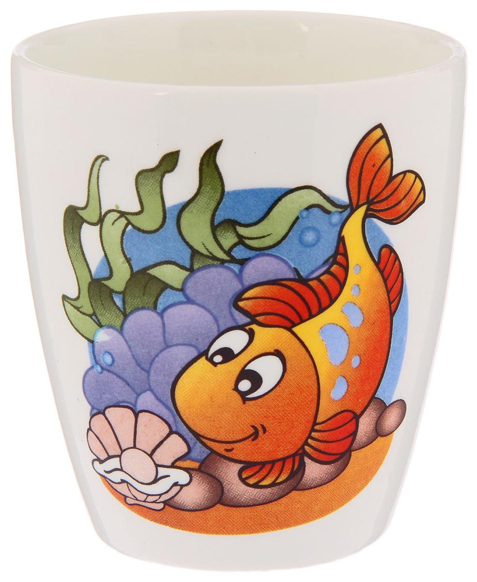 Кубаньфарфор Кружка детская Морской мир Рыба 220 мл2220081_рыбаФаянсовая детская посуда с забавным рисунком понравится каждому малышу. Изделие из качественного материала станет правильным выбором для повседневной эксплуатации и поможет превратить каждый прием пищи в радостное приключение.Особенности:- простота мойки,- стойкость к запахам,- насыщенный цвет.