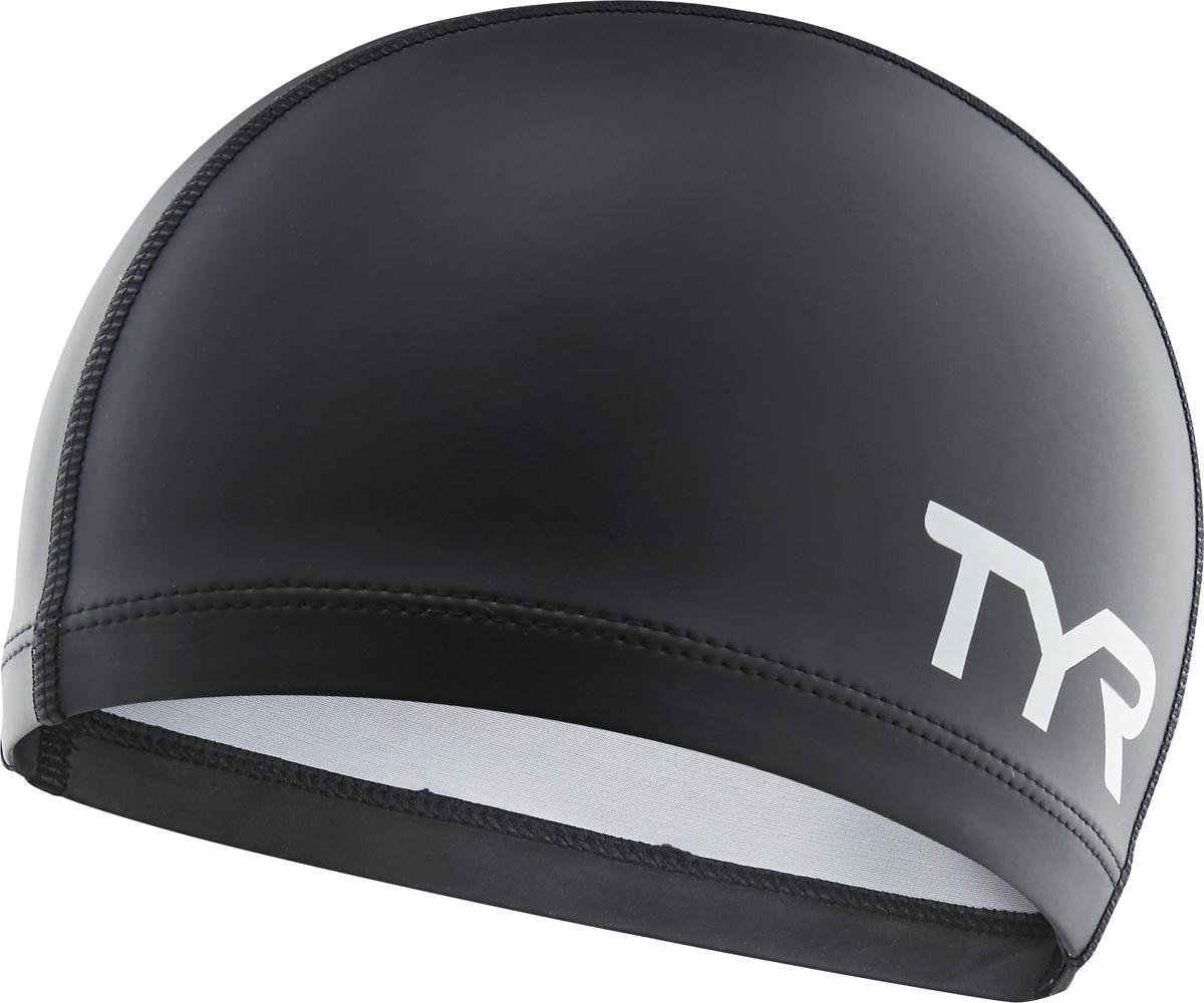 Шапочка для плавания Tyr Silicone Comfort Swim Cap, цвет: черный. LSCCAP шапочка для плавания tyr tyr ty003dujzb79