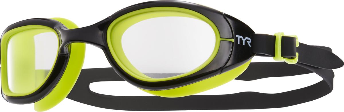 Очки для плавания Tyr Special Ops 2.0 Transition, цвет: черный, салатовый. LGSPXLGSPXОни обыграли саму мать-природу, очки Special Ops 2.0 с фотохромными линзами. Передовая технология реагирует на изменение условий освещенности, автоматически изменяет цвет линзы от дымчатого (на открытой воде) к прозрачному (в бассейне) и наоборот. Позволяет плавать, не обращая внимания на то светит ли ярко солнце или облачная погода. Все очки серии TYRSpecialOPS 2.0 имеют прочный, силиконовый, гипоаллергенный уплотнитель, который сохраняет защиту от протекания и форму в течение всего срока службы. Линзы во всех очках серии TYRSpecialOPS 2.0 уже обработаны средством предотвращающим запотевание линз, что исключает необходимость в течение продолжительного времени повторное использование спрея. Объединённая конструкция переносицы идеально подходит под разные типы строения лица, также очки обладают широким периферическим обзором для оптимального видения в воде. TYRSpecialOPS 2.0 - наши лучшие очки для универсального использования, они идеально подойдут для триатлона, плавания в открытой воде, и тренировок в бассейне.