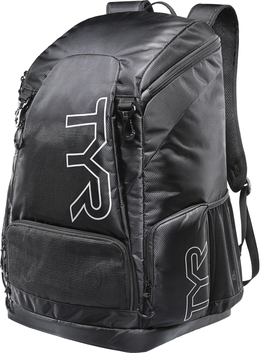 Рюкзак Tyr Alliance 45L Backpack, цвет: черный. LATBP3 кольца tyr dive rings цвет ассорти lstsrng