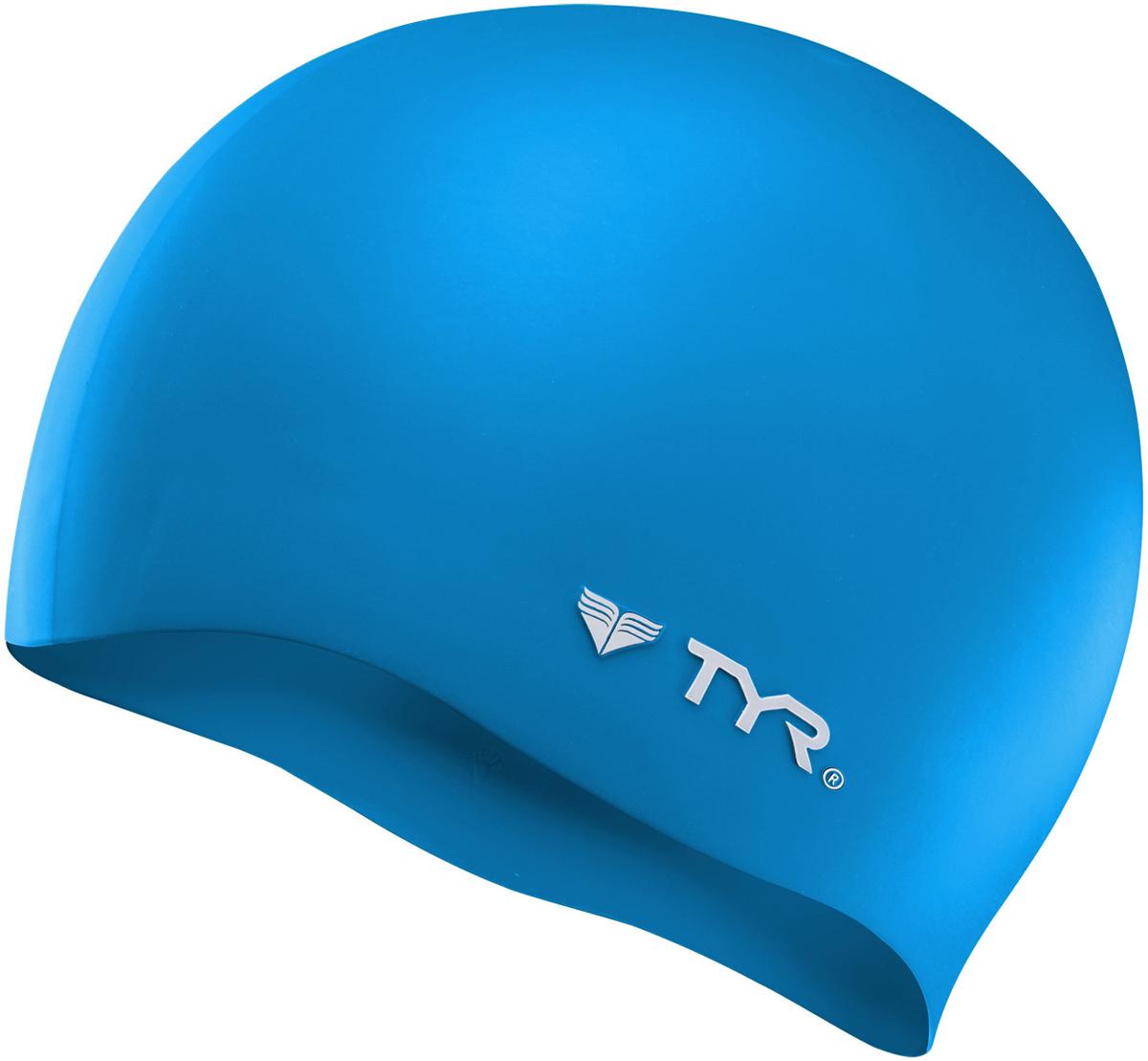 Шапочка для плавания Tyr Wrinkle Free Silicone Cap, цвет: голубой. LCSLCSСиликоновая шапочка TYR Wrinkle Free – изготовлена из высококачественного материала устойчивого к воздействию хлорированной воды, что гарантирует долгий срок службы. Материал шапочки не вызывает раздражения кожи и других аллергических реакций. Прекрасный вариант для тренировок в бассейне.