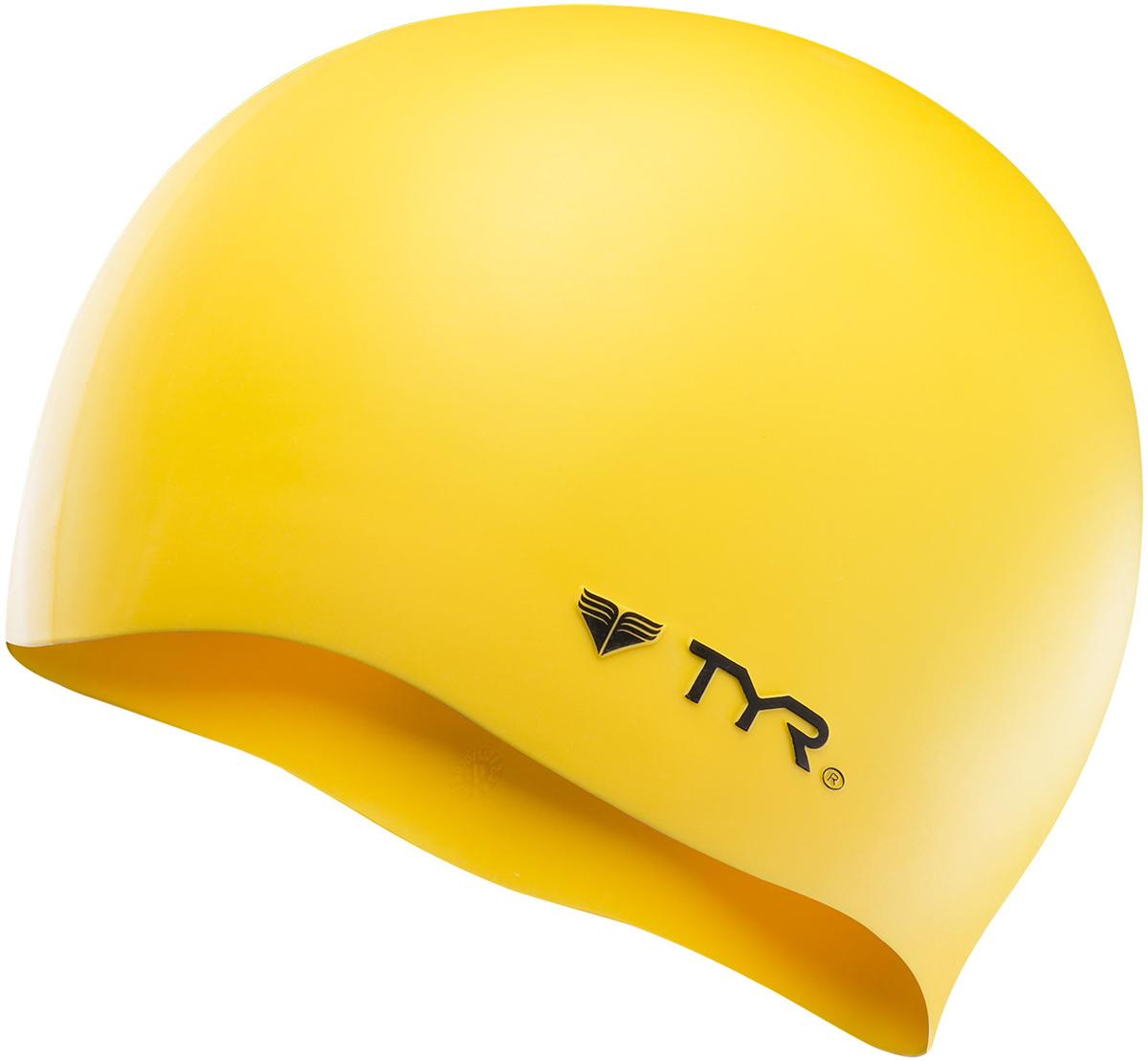 Шапочка для плавания Tyr Wrinkle Free Silicone Cap, цвет: желтый. LCSLCSСиликоновая шапочка TYR Wrinkle Free – изготовлена из высококачественного материала устойчивого к воздействию хлорированной воды, что гарантирует долгий срок службы. Материал шапочки не вызывает раздражения кожи и других аллергических реакций. Прекрасный вариант для тренировок в бассейне.