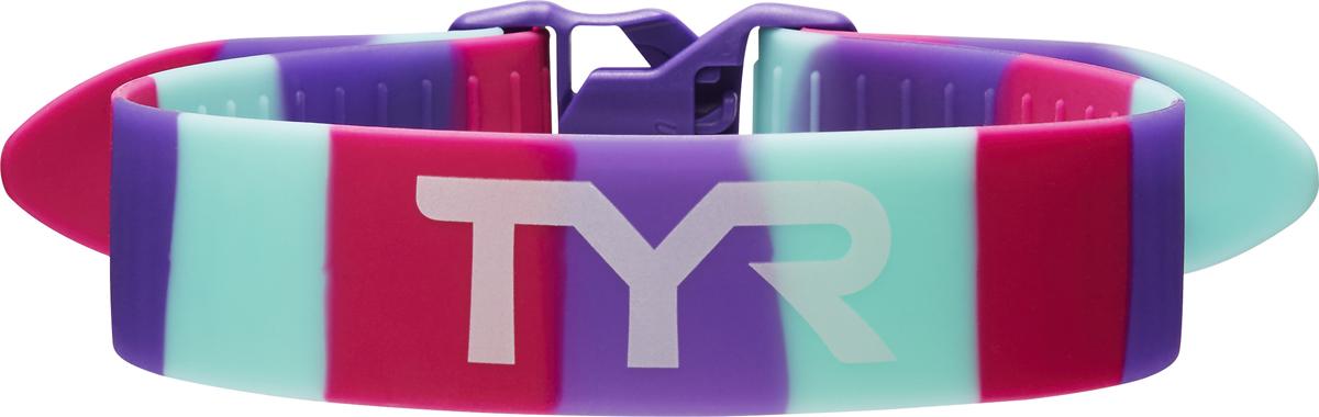 Фиксатор ног для плавания TYR Rally Training Pull Strap, цвет: розовый, фиолетовый, ментоловый. LTAS tyr tyr carbon thin strap tri support bra