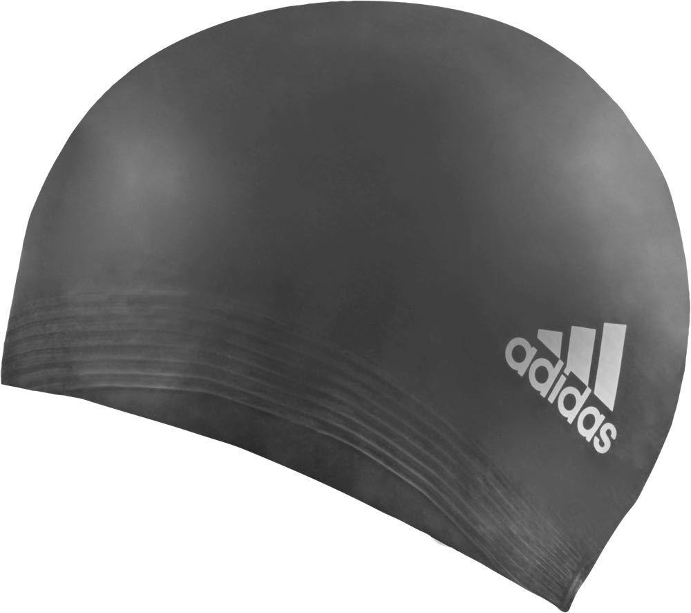 Шапочка для плавания Adidas Latex CP 1PC, цвет: черный. 657345657345Шапочка для плавания и водного поло.Легкая и долговечная.
