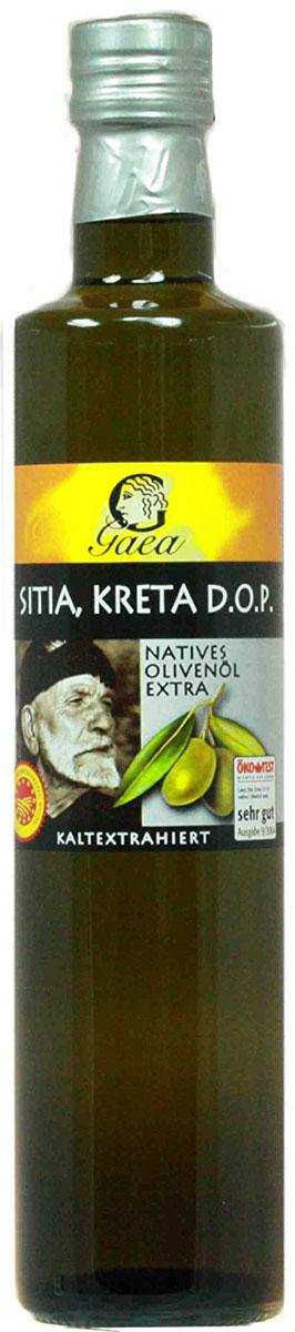 Gaea Sitia Crete А.O.P. Extra Virgin масло оливковое, 0,5 л0370026_А.O.P._в стеклеМасло высшей категории, произведенное из оливок исключительно механическими методами.