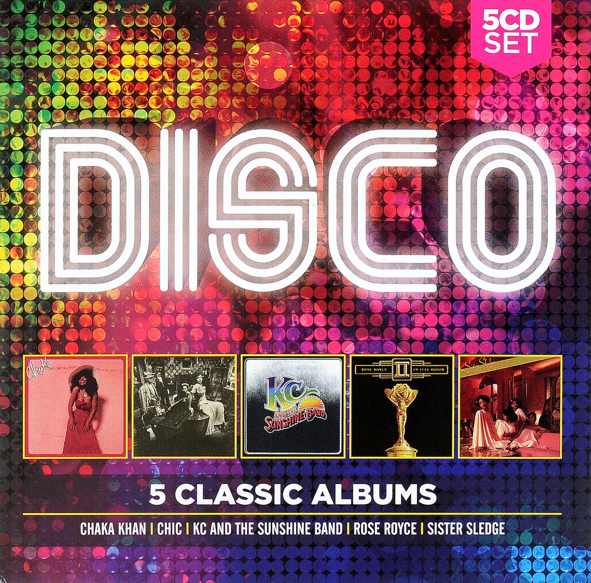 Zakazat.ru 5 Classic Albums: Disco (5 CD)