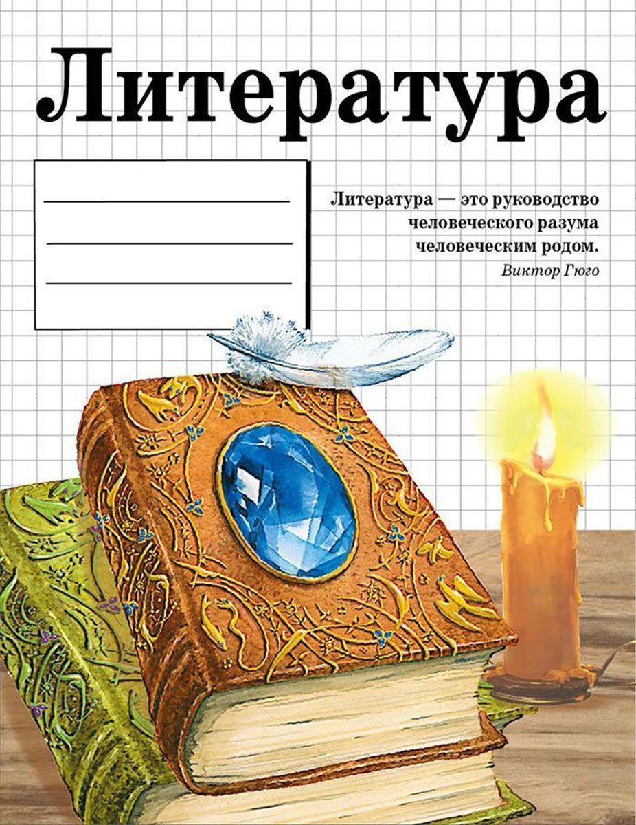 Стрекоза Тетрадь Литература 48 листов в линейку8903Тематическая тетрадь по литературе в линейку с полями. Обложка - картон. Учитесь с удовольствием и делайте свои удивительные открытия!