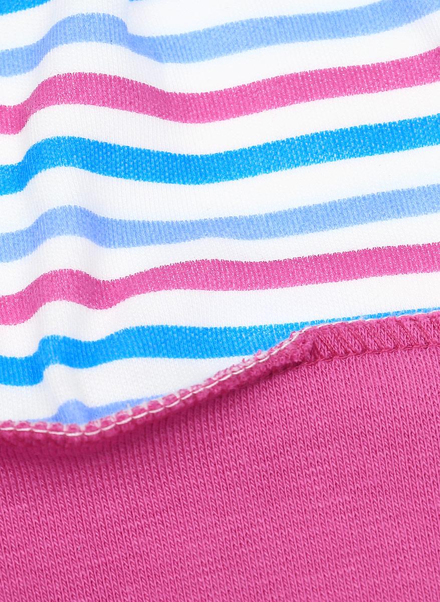 Шапочка детская Luky Child, цвет: розовый, бирюзовый. А6-109. Размер 68/74 Lucky Child