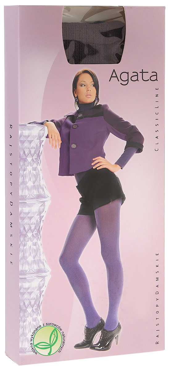 Колготки женские Knittex Agata 120, цвет: мокка. AGATA. Размер 5AGATAНепрозрачные колготки Agata от Knittex, изготовленные из вискозы, плотностью 120 den с продольным рисунком в рубчик по всей длине ноги. Без шортиков. Плоские швы. Хлопковая ластовица. Классическая высота талии. Широкая комфортная резинка.В размере 5-XL специальная вставка (2 шва). Без пятки.