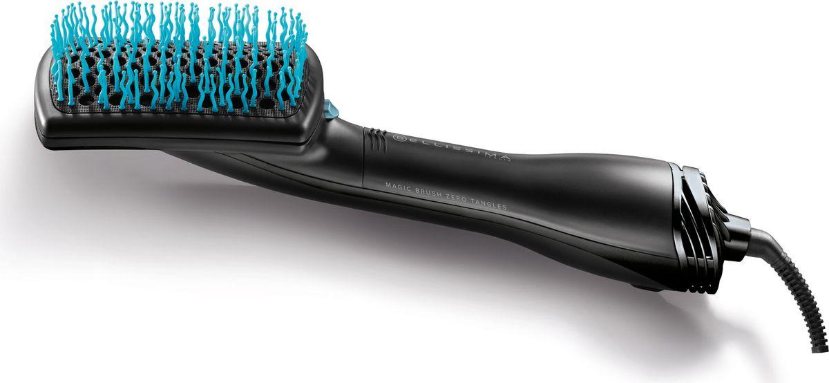 Imetec Bellissima 11507 фен-щетка для выпрямления волос11507BELLISSIMA MAGIC - ФЕН-ЩЕТКА ВЫПРЯМИТЕЛЬ! Сухие, гладкие, идеально расчесаные волосы, при помощи «Магической щетки»Инновационная фен-щетка двойного действия:Специальная щетка с волнистыми щетинками мягко распутывает волосы при сушке.Для финальной укладки - щетка из бамбука, чтобы придать волосам мягкость и блеск.DC - мотор1200W2 температурных /скоростных режимаCool shot -холодный воздух для фиксации2 щетки в комплекте:С Бамбуковыми щетинкамиС волнистыми пластиковыми щетинкамиВращающийся шнур