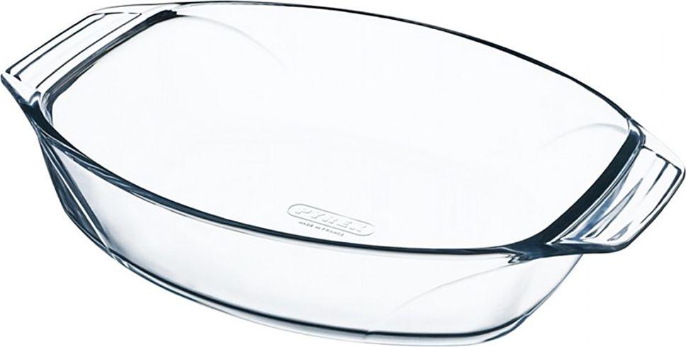 Блюдо для запекания Pyrex Irresistible, овальное, 30 х 21 см410B000/7044Блюдо для запекания Pyrex Irresistible изготовлено из боросиликатного стекла, устойчивого к резким перепадам температуры. Предназначено для приготовления, разогрева и хранения пищи. Благодаря гладкой непористой поверхности данное блюдо не впитывает запахи, не меняет цвет, легко моется. Стойкое к образованию царапин. Блюдо для запекания Pyrex Irresistible по достоинству оценит даже не профессиональный повар, поскольку благодаря данному атрибуту вы сможете с удовольствием приготовить любимое блюдо в духовом шкафу, сохранив особый аромат и полезные свойства, а главное, обеспечите себя дополнительным свободным временем. Посуда для запекания в духовке позволит вам создать уникальный и сочный кулинарный шедевр, варьирующийся на любой вкус и рецепт кулинара.Объем: 2 л. Высота борта: 7 см.