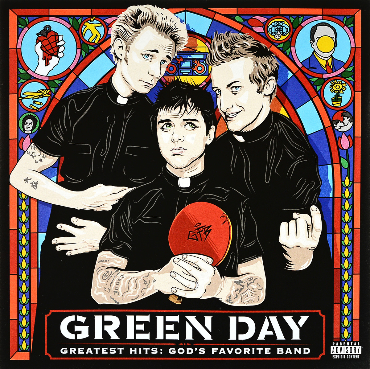 Green Day Green Day. Greatest Hits. God's Favorite Band (2 LP) chuangzhuo sim900a simcom dual band 900mhz 1800mhz gsm gprs module green