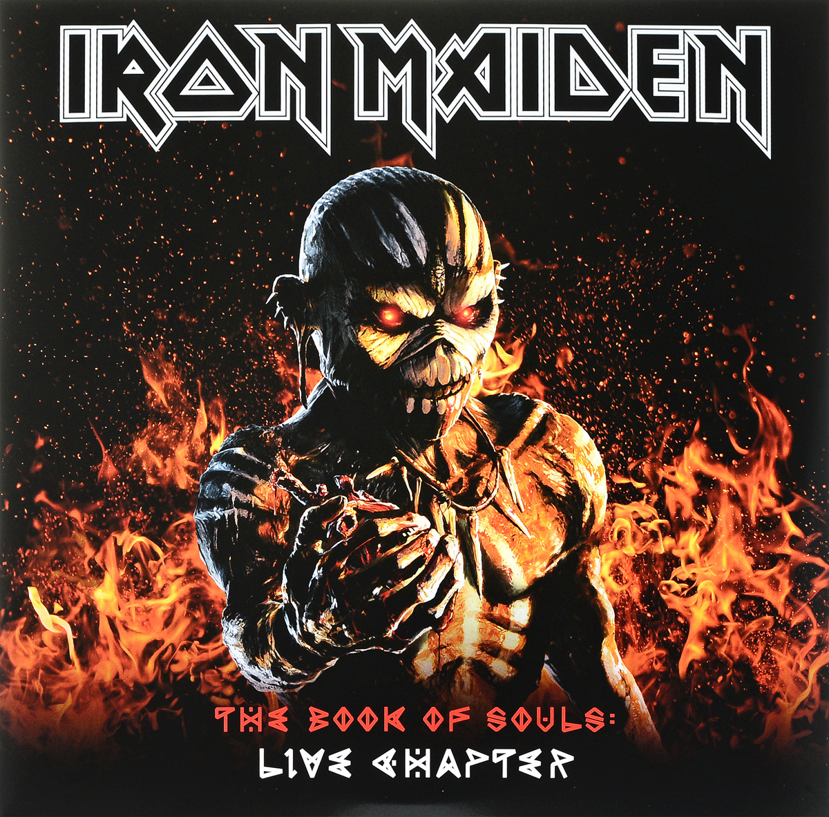 Iron Maiden Iron Maiden. The Book Of Souls: Live Chapter (3 LP) iron maiden iron maiden a matter of life and death 2 lp 180 gr