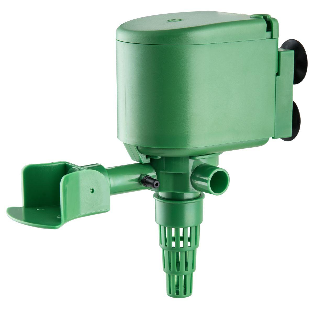 Помпа для аквариума Barbus PUMP 006, водяная, 2800 л/ч, 40 ВтPUMP 006Водяная помпаBarbus PUMP 006 - это насос, который предназначен для подачи воды в аквариуме, подходит для пресной и соленой воды. Механическая фильтрация происходит за счет губки, которая поглощает грязь и очищает воду. Имеет дополнительную насадку с возможностью аэрации воды. Только для полного погружения в воду. Потребляемая мощность: 40 Вт. Напряжение: 220-240 В. Частота: 50/60 Гц. Производительность: 2800 л/ч.Максимальная высота подъема: 1,8 м. Уважаемые клиенты!Обращаем ваше внимание навозможныеизмененияв цветенекоторых деталейтовара. Поставка осуществляется в зависимости от наличия на складе.
