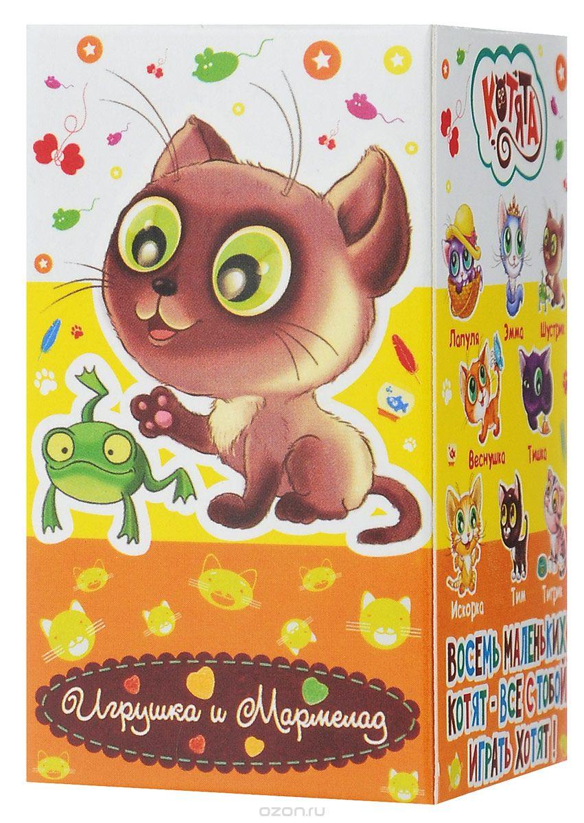 Fresh Toys Давай играть. Котята мармелад жевательный с игрушкой, 10 г (в ассортименте)ифа002Коллекция Давай играть выпускается с 2011 года и содержит милых домашних питомцев - 8 разных маленьких котят. Набор содержит жевательный мармелад и одну игрушку.Для девочек от 3 лет.Уважаемые клиенты! Обращаем ваше внимание на то, что упаковка может иметь несколько видов дизайна. Поставка осуществляется в зависимости от наличия на складе.