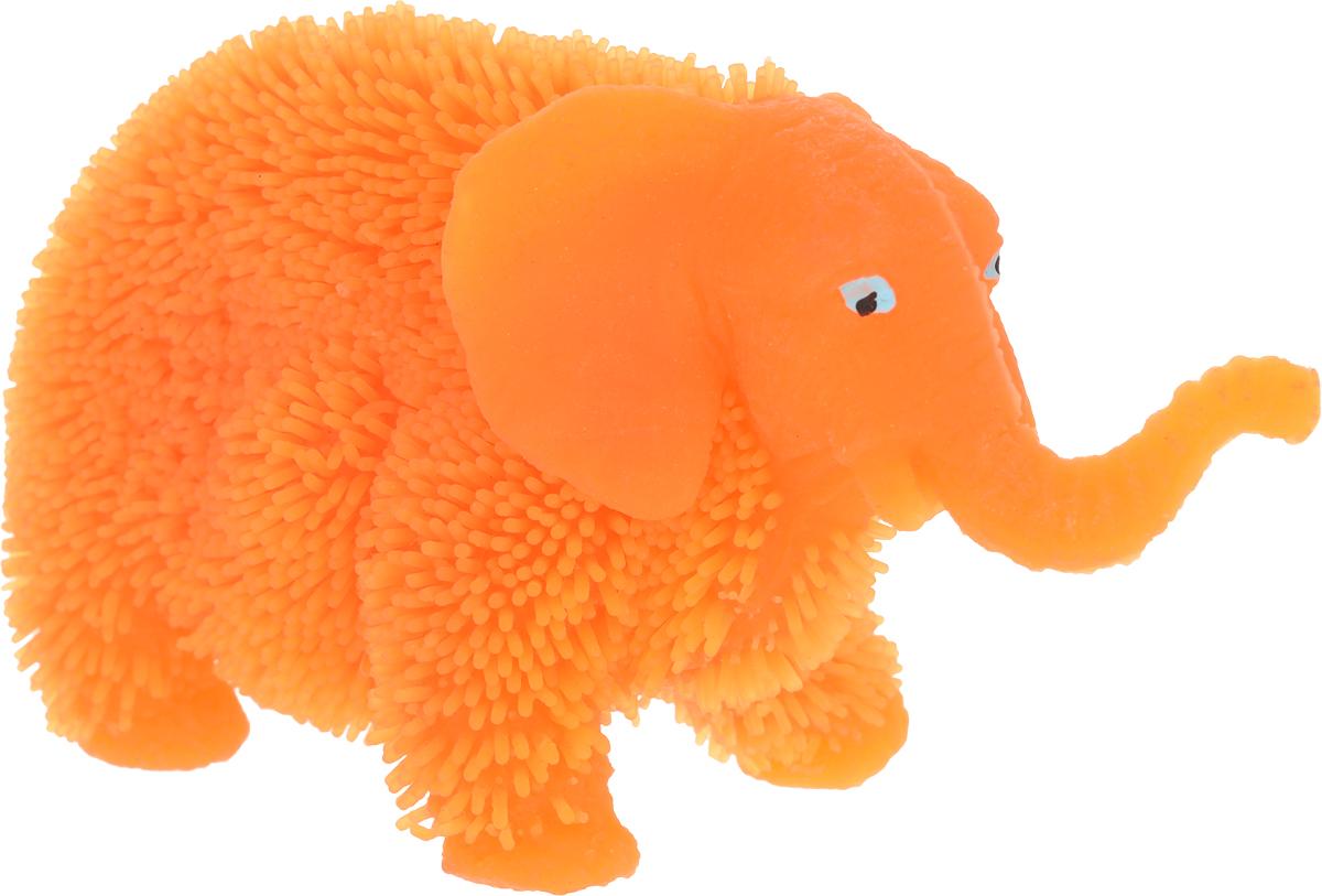 1TOY Антистрессовая игрушка Нью-Ёжики Слоник цвет оранжевый 1toy игрушка антистресс ё ёжик животное цвет бежевый