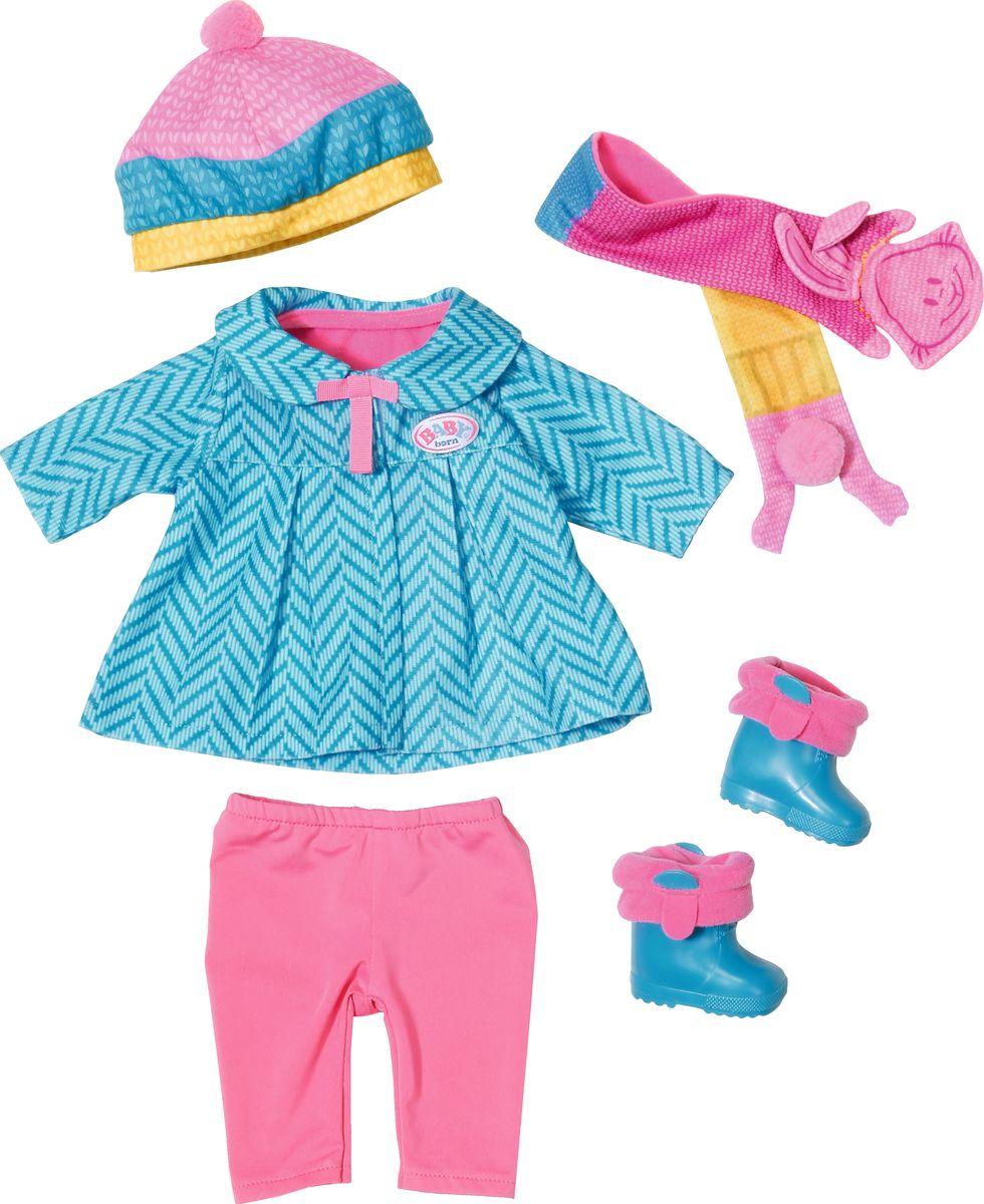Baby Born Одежда для кукол Для прохладной погоды леггинсы born леггинсы