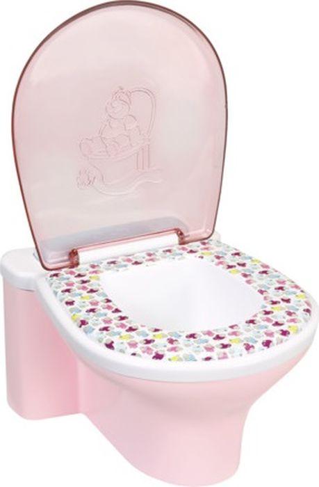 Baby Born Аксессуар для кукол Унитаз baby baby туалет детская кровать унитаз унитаз миска для унитаза унитаз унитаз туалет туалет кровать туалет зеленый туалет bh 101