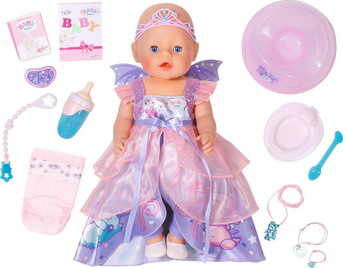 Baby Born Кукла Волшебница 43 см baby born кукла быстросохнущая baby born
