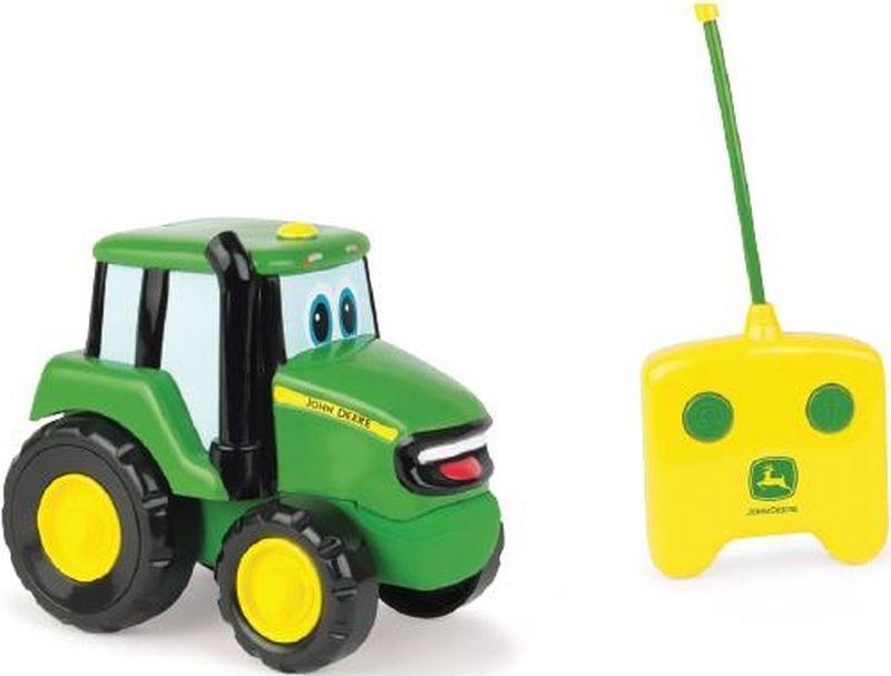 Tomy Трактор на радиоуправлении John Deere машинки tomy трактор john deere 6830 с двойными колесами и фронтальным погрузчиком