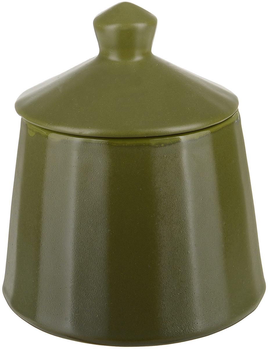Сахарница Борисовская керамика Ностальгия, цвет: болотныйРАД14458294Изделие выполнено из высококачественной глазурованной керамики. Внутреннее и внешнее покрытие изделий изготовлено из экологически чистых природных материалов.Такая сахарница станет отличным подарком и обязательно пригодится в любом хозяйстве.