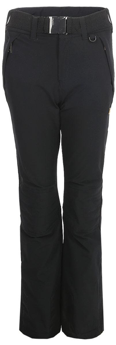 Брюки женские Luhta, цвет: черный. 838712393LV_990. Размер 40 (48) luhta брюки для девочек luhta kirsi