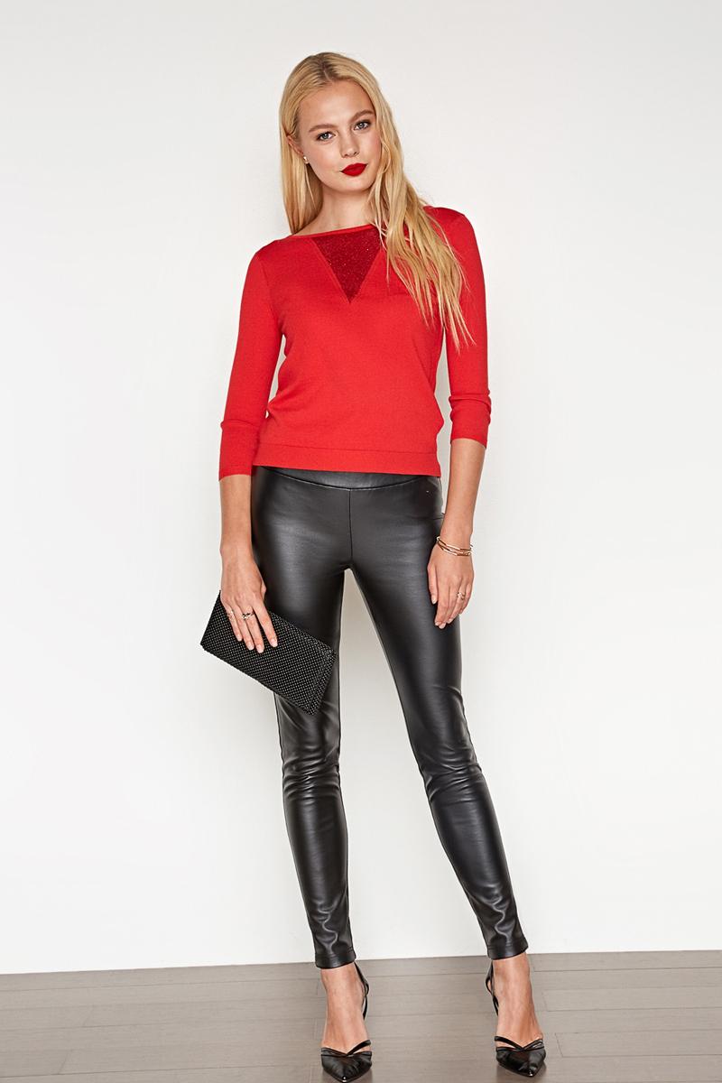 Джемпер женский Concept Club Multimi, цвет: красный. 10200310141_1500. Размер M (46) джемпер женский concept club twerk цвет красный меланж 10200100055 1600 размер xl 52