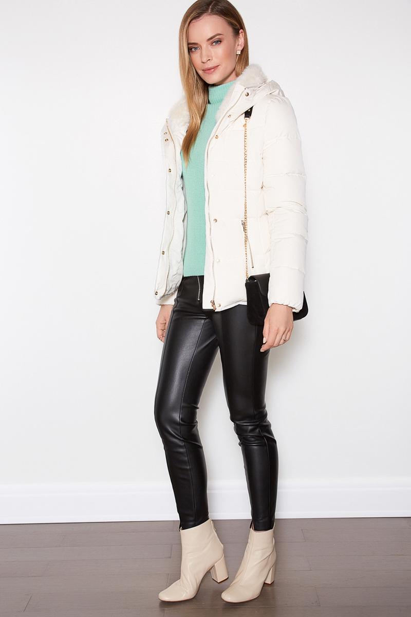 Куртка женская Concept Club Ino, цвет: молочный. 10200130115_300. Размер XL (50) м в фирсов б ю шапиро психология социальной работы учебник и практикум для спо