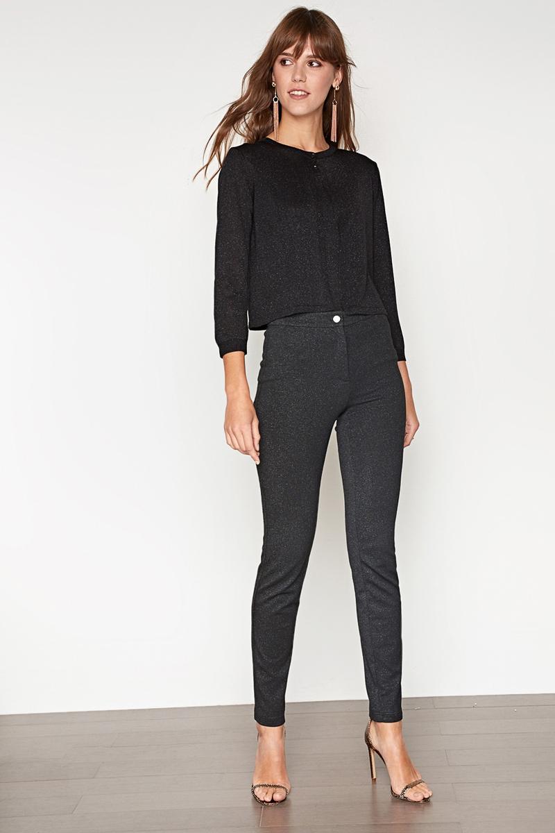 Топ женский Concept Club Quentin, цвет: черный. 10200110281_100. Размер M (46) юбка concept club vanya цвет черный 10200180223 100 размер m 46