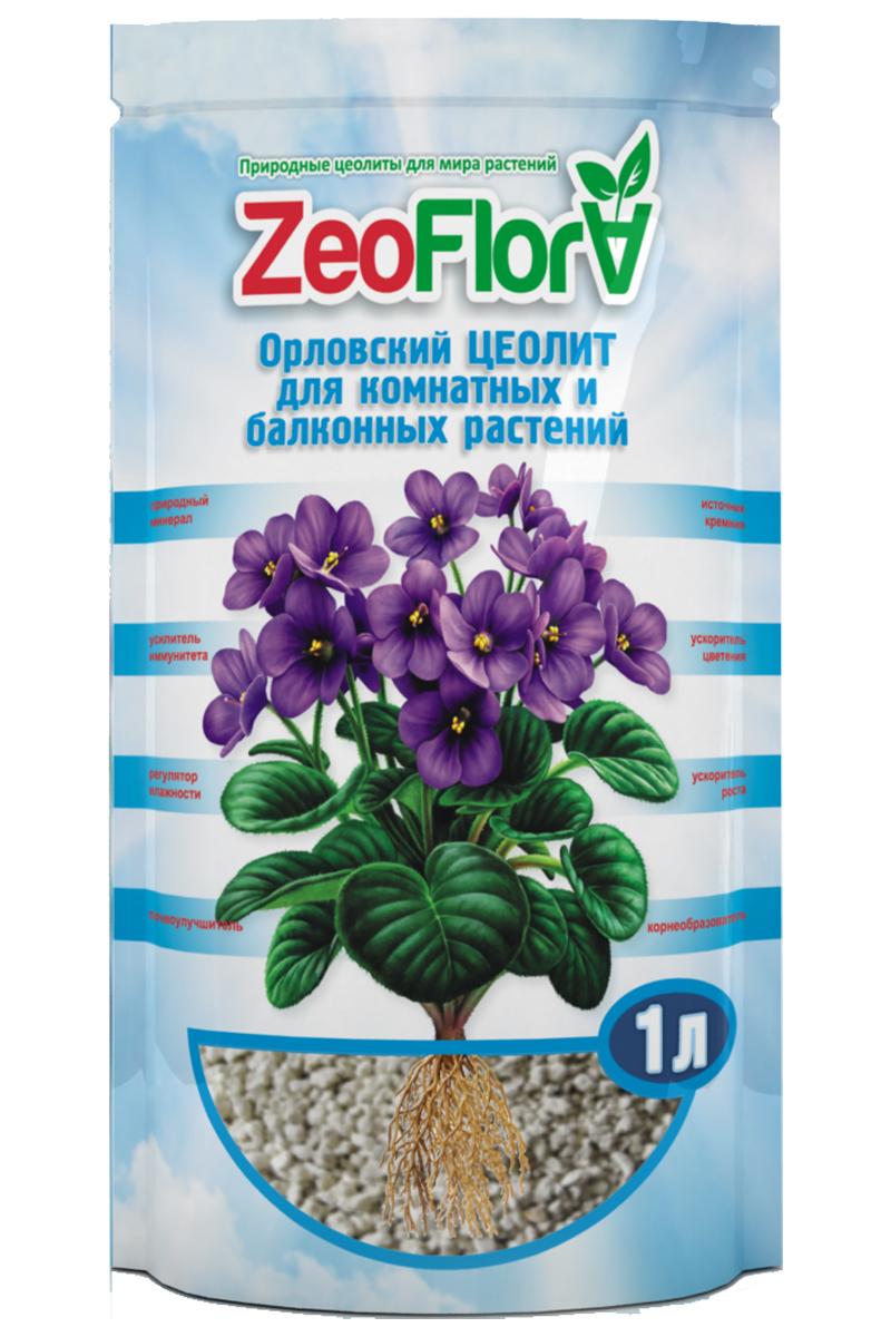 Предназначен для выращивания бегонии, глоксинии, герани, фиттонии, хлорофитума и других горшечных растений. ZeoFlora (ЦеоФлора) –  природный почвоулучшитель, стимулятор роста растений, корнеобразователь, источник кремния и необходимых растению микро- и  макроэлементов (калий, кальций, магний, бор, цинк, марганец, молибден и др.) в доступных растению формах. Продукт создан на основе мягких  природных цеолитов Хотынецкого месторождения (Орловские цеолиты). ЦеоФлора – эффективная добавка в основной грунт, оказывает комплексное воздействие на почву, формируя её плодородие, обеспечивает  эффективное выращивание различных цветочных культур с минимальными затратами на удобрения и полив, увеличением количества бутонов,  получением цветочной продукции более высокого качества.   Назначение: • Улучшение приживаемости растений при их посадке и пересадке. • Размножение растений семенами и вегетативно. • Регуляция влагоёмкости почвы, сокращение частоты полива.  • Снабжение цветочных культур необходимыми им кремнием, калием и другими микро- и макроэлементами в доступной для растений форме. • Сохранение и удержание воды в течение длительного времени, постепенное и постоянное снабжение растений водой по мере необходимости. • Снижение развития патогенной микрофлоры в почвосмеси и снижение токсичности грунтов. • Удержание питательных веществ в почвосмеси за счёт уменьшения их вымывания. Увеличение продолжительности действия удобрений  (пролонгированный эффект) и сокращение их количества при внесении. • Снижение кислотности грунта и улучшение его структуры.  Эффекты: • Увеличение выживаемости, стрессоустойчивости и устойчивости к неблагоприятным условиям. • Ускорение роста и развития растений. Возможность более раннего и качественного цветения. • Увеличение корневой массы растений, укрепление «скелетной» структуры растений за счёт снабжения растений доступными кремнием, микро-  и макроэлементами. • Улучшение усвоения растениями питательных веществ (азот, фосфор, калий) из стандартного 
