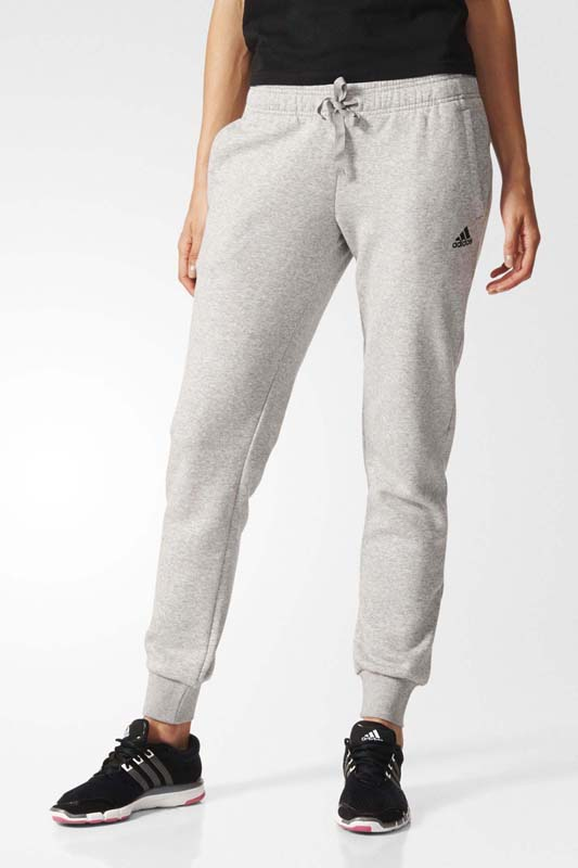 Брюки спортивные женские Adidas Ess Solid Pant, цвет: серый. S97160. Размер XL (52/54) брюки спортивные женские adidas ess solid pant цвет серый s97160 размер l 48 50