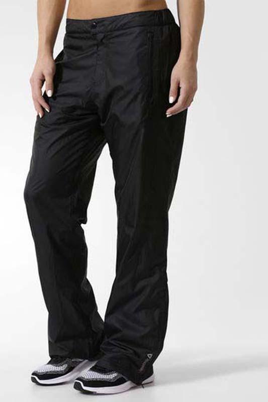 Брюки утепленные женские Reebok Dso Fl Line Pant, цвет: черный. Z60283. Размер M (46/48) reebok кеды женские