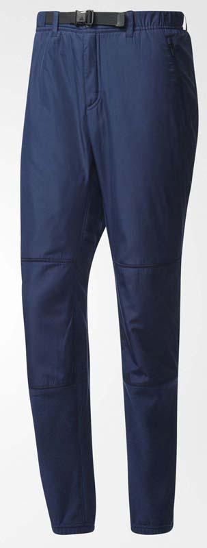 Брюки спортивные мужские Adidas Windfleece P, цвет: синий. AI9330. Размер 46 брюки спортивные мужские adidas m id stadium pt цвет синий cg2093 размер xxl 60 62