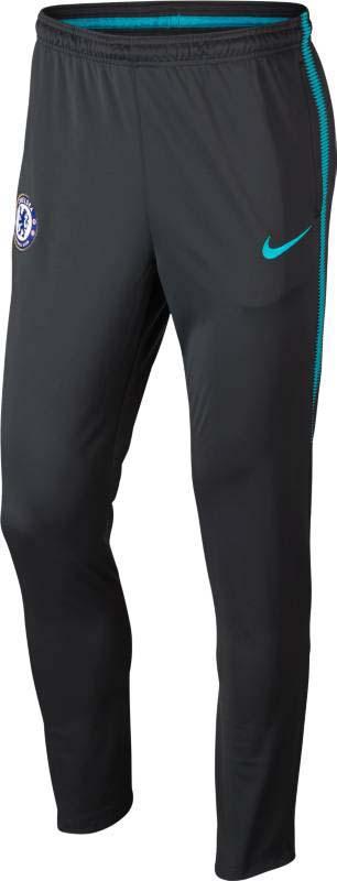 Брюки спортивные мужские Nike Cfc M Nk Dry Sqd Trk Pant Kpz, цвет: синий. 905456-064. Размер M (46/48)905456-064Спортивные мужские брюки от Nike выполнены из высококачественного материала. Модель в поясе дополнена эластичной резинкой.