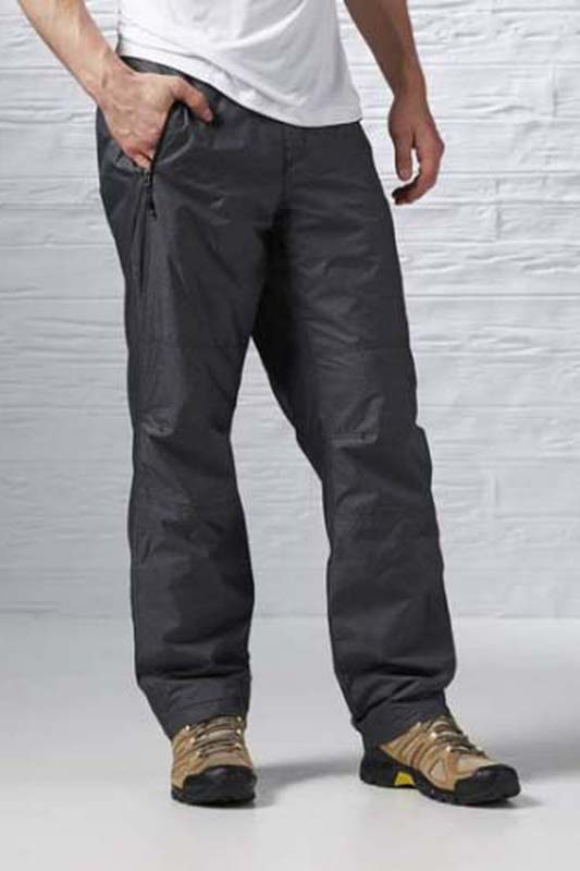 Брюки спортивные мужские Reebok Fm Combi Fleece Pan, цвет: черный. S95805. Размер XL (56/)