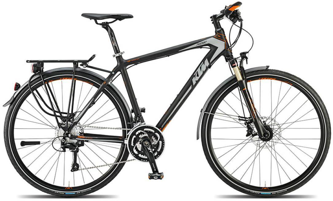 Велосипед городской KTM Phonic 2015, цвет: черный, рама 18, колесо 28251165