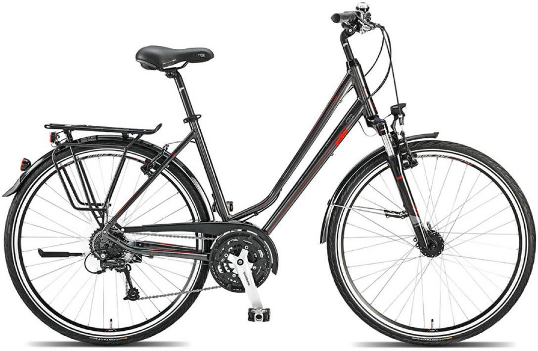 Велосипед женский KTM Life fun 2015, цвет: серый, рама 18, колесо 28251180